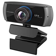 Are you still bother about you could find a good webcam? Here, we will provide you with the best quality Hd Webcam 1080p and best services.   This Hd Webcam 1080p will provides a much more clarity video calling, streaming, conferencing for yo...