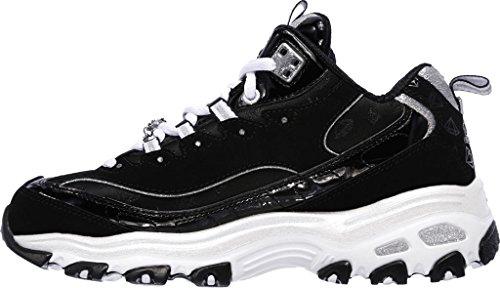 Sneachers Sneaker da rivampa stile D'Lites, nero / bianco