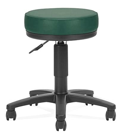 OFM Utility Stool In Teal Vinyl