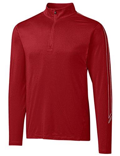 Cutter and Buck Pennant Sport Half Zip Golf Pullover 2018 Cardinal Red XX-Large Cutter & Buck Golf Pullover