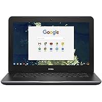 Dell Chromebook 13 3380 6TXJ4 13.3-Inch Traditional Laptop (Black)