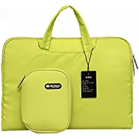 Gearmax(TM) 13.3 Inch Laptop Sleeve Cover Bag for Surface Book, Macbook Pro Air, Ultrabook Notebook Carrying Case Handbag for 13 Lenovo Dell Toshiba HP ASUS Acer Chromebook with a small case- Yellow