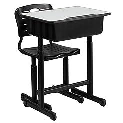 Flash Furniture Adjustable Height Studen...