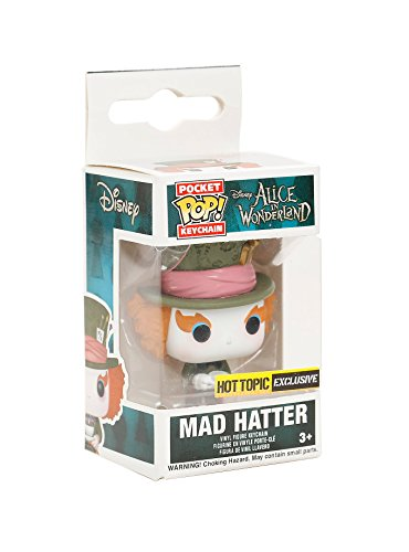 Funko- Alice In Wonderland-Mad Hatter Llavero, Multicolor, 4 CM (7592)