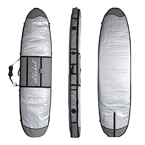 (Abahub Premium 9'6 SUP Bag, Padded Stand-up Paddleboard Case, Paddle Board Carrying Bags for Outdoor, Travel, 7 )
