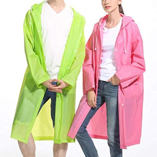 Con Laisla Poncho Traspirante Camping Da E Fashion Classiche Pink Uomo Donna Cappuccio Impermeabile Ragazzi Outdoorhiking tqxqFwBrp