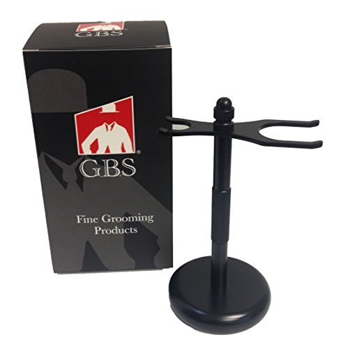 GBS Brush and Razor stands (Black Brush and Razor) by Gbs 3012