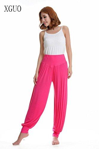 Stong Pantalones de yoga para mujer, danza, super suave Rose Rot