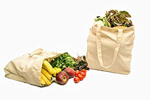 100% Organic Natural Cotton Canvas bag reusable shopping bags canvas tote bag cotton grocery bags canvas grocery bag, Tote Bag yoga bag Duffel bag