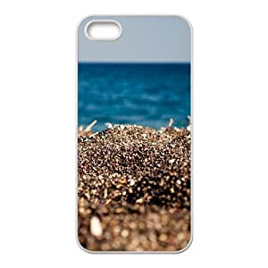 Personalized Case for Iphone 5,5S - The sun on the beach ( WKK-R-511692 )