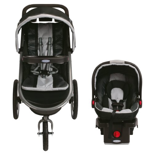Graco FastAction Fold Jogger Click Connect Travel System, Gotham (Discontinued by Manufacturer) by Graco (Image #8)