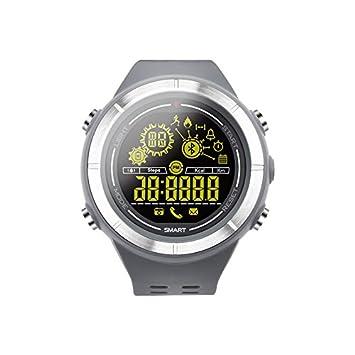 MOREFINE Reloj Deportivo Digital Bluetooth Reloj Impermeable al aire libre con cronómetro Podómetro Contador de Calorías ...