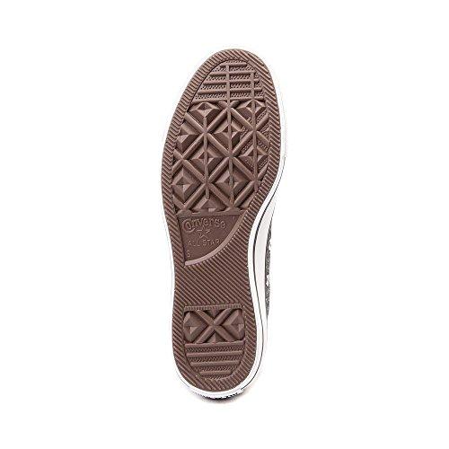 Converse Mens Sneakers Ox In Pelle Scamosciata Stelle Grigio