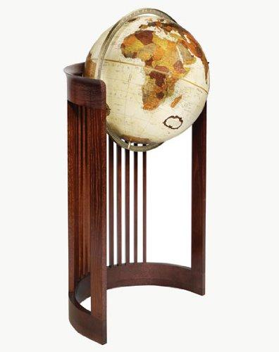 Replogle Globes Barrel Globe, Bronze Metallic Finish, 16-Inch Diameter (Metallic Barrel Wide)