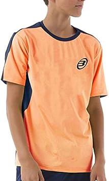 Bullpadel Camiseta IUNET Naranja Fluor NIÑO