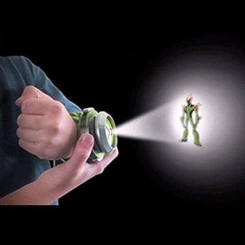 Skyzonal® Ben 10 Alien Force Omnitrix Illumintator Projector Watch Toy Gift for Child - Ben 10 Omnitrix