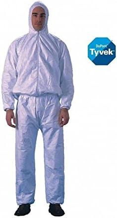 PT31LO Bianco Pantalone In Tyvek Dupont Mod Bianco XL
