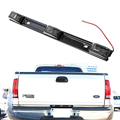 3-Lamp Truck Rear Tailgate or Trailer LED Light Bar Compatible For Ford F-150 F-250 F-350 F-450 Dodge RAM 1500 2500 3500 Chevy Silverado, GMC Sierra, etc ()
