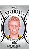 2018-19 Upper Deck Portraits Hockey Card #P-42 Jake Guentzel Pittsburgh Penguins Official UD Trading Card