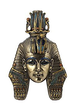 (King TUT Tutankhamum Mask Egyptian Pharaoh Wall Plaque)