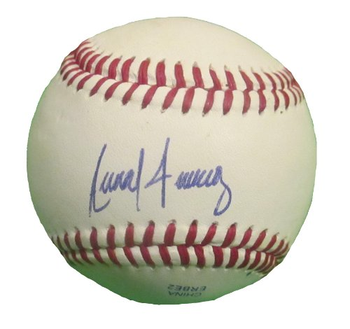 - Seattle Mariners Anthony Fernandez Autographed Hand Signed Baseball with Proof Photo of Signing and COA