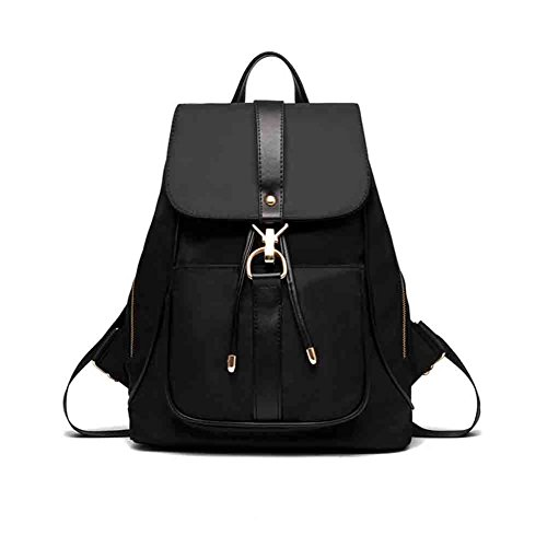 Sunny High Quality Leisure Backpack Female College Bag For School Fine European And American Fashion Casual Labor Match, Black / Purple / Blue (color: Purple) Black