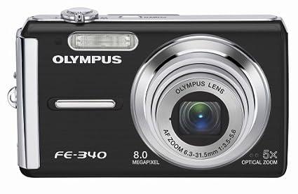amazon com olympus fe 340 8mp digital camera with 5x optical zoom rh amazon com olympus fe-340 manual Olympus Fe 46