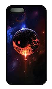 iPhone 5S Case, iPhone 5 Cover, iPhone 5S Space 14 Hard Black Cases