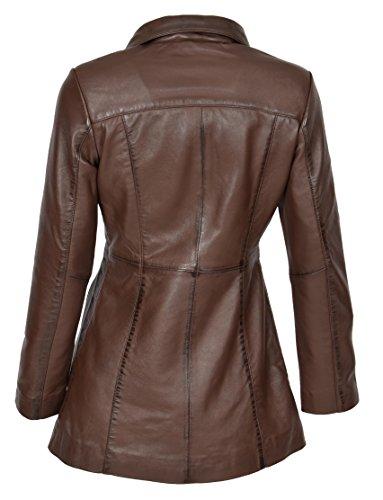Goods Fashion Longues A1 Marron Blouson Manches Femme q6xwHZU5w
