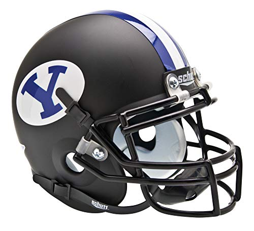 NCAA BYU Cougars Collectible Alt Mini Helmet, Matte Black