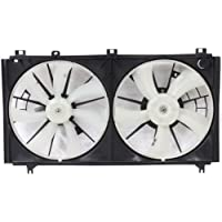 MAPM Premium IS250 06-13 RADIATOR FAN SHROUD Assembly, Dual Type, 2.5L Eng.