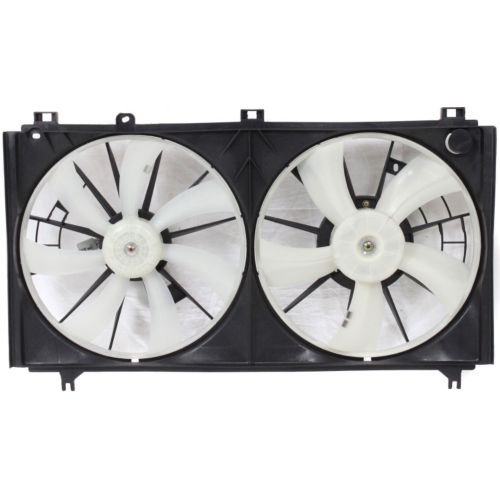 MAPM Premium IS250 06-13 RADIATOR FAN SHROUD Assembly, Dual Type, 2.5L Eng. by Make Auto Parts Manufacturing
