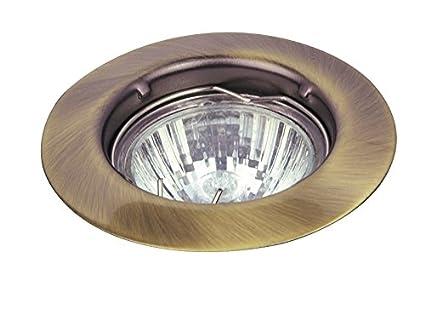 Moderne einbauleuchte in bronze bis watt v einbaulampe aus