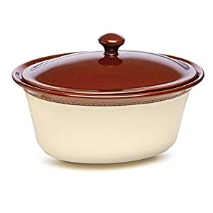 Paula Deen Southern Gathering Dinnerware & Stoneware Covered Oval Casserole