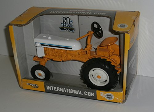 ERTL 60th Anniversary International Cub Tractor Replica - Yellow - Anniversary Tractor