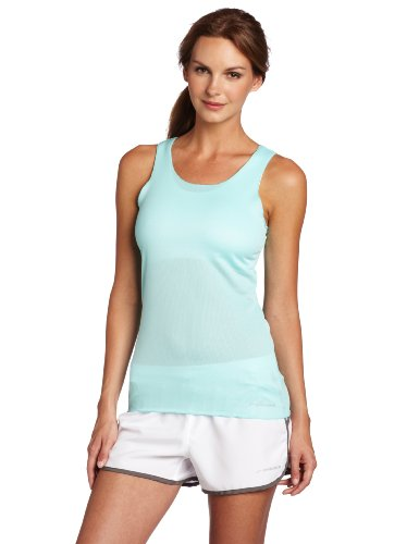Brooks Women's D-Lite Mesh Tank, Tropic, Large (Tropic Top Lycra)