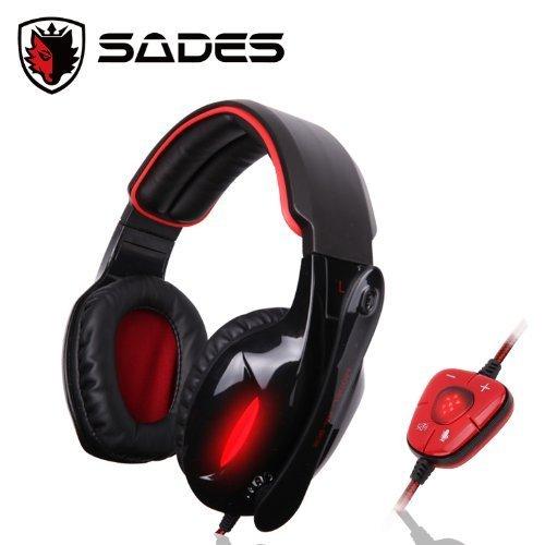 SADES SA-901 Stereo 7.1 Surround Pro Gaming Headset Headband Headphone...