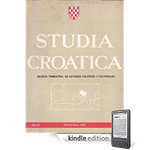 Studia Croatica - números 74-75 - 1979 (Spanish Edition) (Kindle Edition)