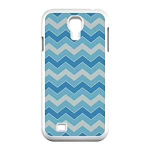 Cell phone case Of Chevron Bumper Plastic Hard Case For Samsung Galaxy S4 i9500