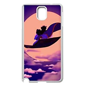 Samsung Galaxy Note 3 White phone case Disney Cartoon Comic Series Aladdin OYF3148355