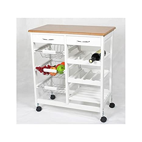 Kit Closet 7040028001, Carrello da cucina, in legno: Amazon.it: Casa ...