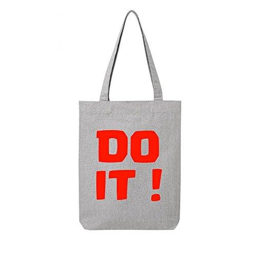 toile bag recycle it Tote gris do en tE0Rwqd