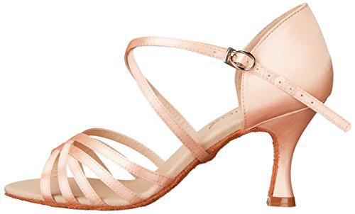 Rosa Chameau Danse Capezio De Pour Satin Femmes Chaussures ExOqAZYn