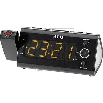 Proyector-Uhrenradio MRC 4121 P AEG: Amazon.es: Bricolaje y ...