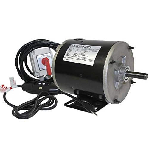BH-USA Elite Boat Lift Motor for PWC Hoist, 0.75 hp by BH-USA