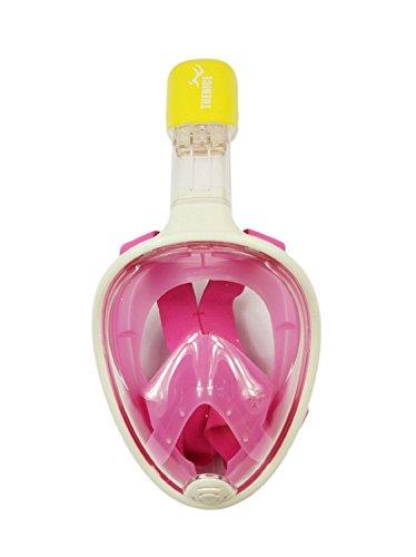 Easybreath Snorkeling Mask (L/XL, Pink)