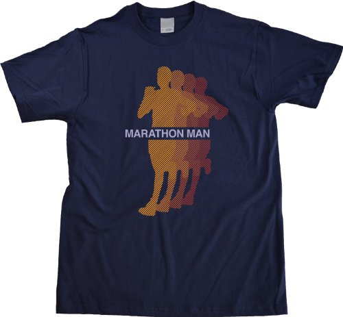 MARATHON MAN Adult Unisex T-shirt / Cross Country Running, Marathoner Pride Tee