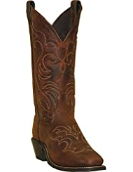 Abilene Womens Boot Embroidered Western Square Toe - 9113