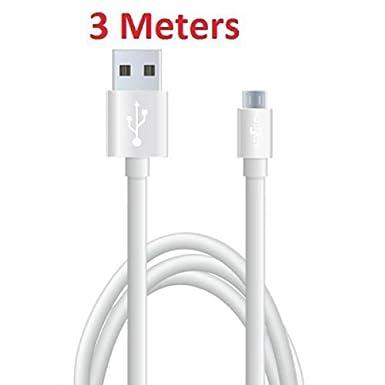 Stella nueva 3 m Samsung Micro Cable cargador USB para ...
