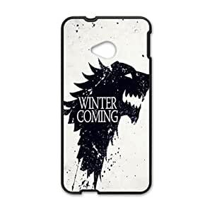 Malcolm Winter Coming Fashion Comstom Plastic case cover For HTC One M7